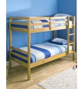 Ranch Style Pine Bunkbed with Mattress