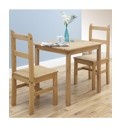 Maya Three Piece Pine Dining Set