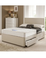 Microquilted Ortho 2 Drawer Divan Single