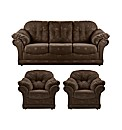 Phoebe Three Seater Sofa And Two Chairs