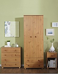 Aspen 3 Piece Bedroom Furniture Package