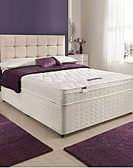Silentnight Cushiontop Double Divan Set