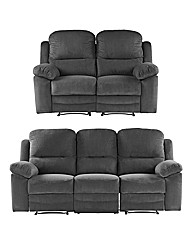 Chaucer Recliner Three and Two Seater