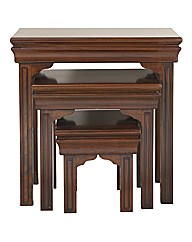 Blenheim Mahogany Nest Of Tables