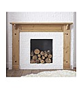 Monterrey Solid Pine Fire Surround