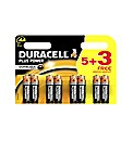 Duracell AA 5 + 3 Battery Pack