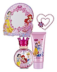Disney Princess 50ml EDT Gift Set with p