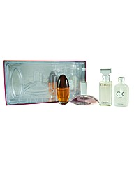 CK Ladies 4 Piece Mini Gift Set