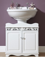 Rose Carved Underbasin Unit