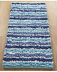 Chenille Stripe Jumbo Bath Mat