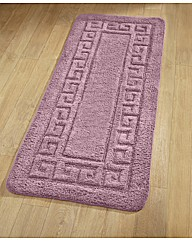 Greek Key Jumbo Bath Mat