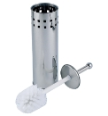 Stainless Steel Toilet Brush & Holder