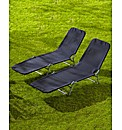 Garden Lounger - Buy 1 Get 1 Free
