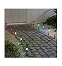 10 Stainless Steel Multicolour Lights