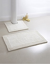 Luxury Reversible Cotton Bath Mat