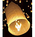 12 Pack of Sky Lanterns