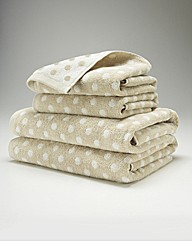4 Piece Patterned Towel Bale