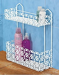 Italian Style Rectangular Storage Shelf