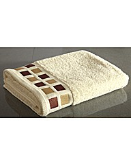 Mosaic Squares Bath Sheet