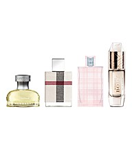 Burberry Woman 4 Piece Mini Set