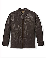 Premier Man Leather Harrington
