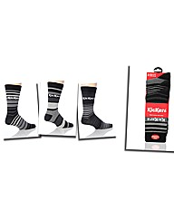 Kickers Pack of 3 Design Socks