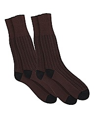HJ Hall Pack 2 Indestructible Socks