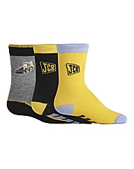 3PK JCB JOEY SOCKS