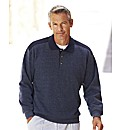 Premier Man Polo Collar Sweatshirt