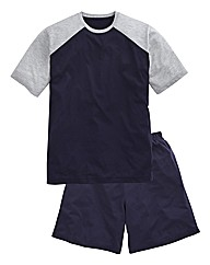 Southbay Short Sleeve Pyjama Short set