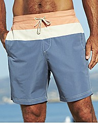 Southbay Pack of Two Stripe Swimshorts