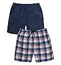 Southbay Pack of Two Swimshorts