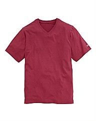 Southbay Unisex Berry Vneck Tshirt