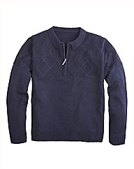 Premier Man Zip Neck Sweater