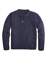 Premier Man Zip Neck Sweater