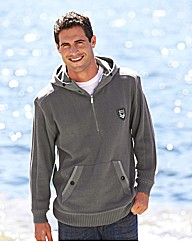Southbay Zip Neck Hooded Sweater