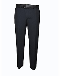 MANN EXECUTIVE FLANNEL TROUSERS REG