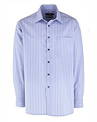 Double Two Long Sleeve Stripe Shirt