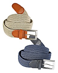 Stretch Braided Belt