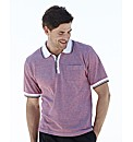 Southbay S/S Stripe Polo Shirt Long