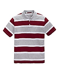 Southbay Stripe Polo Shirt Long