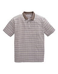 Premier Man Check Polo Shirt