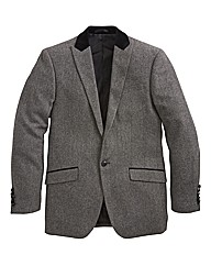 Williams & Brown Velvet Trim Blazer