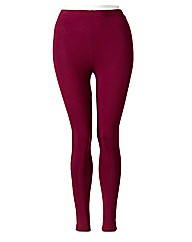 Red Leggings Length 28in