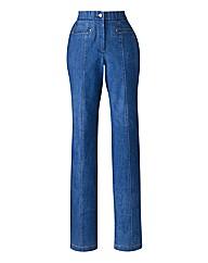 MAGISCULPT Straight Leg Jean Length 29in