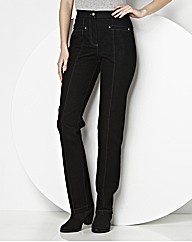 MAGISCULPT Straight Leg Jean Length 27in