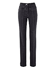 MAGISCULPT Straight Leg Jean Length 29in