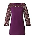 Lace Top Length 26in