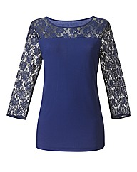 Lace Top Length 28in