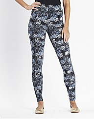 Printed Leggings Length 28in